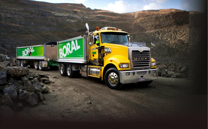 Boral Quarries Transport