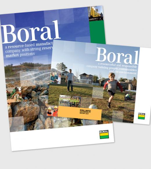 Boral Annual Report and Boral Review 2007