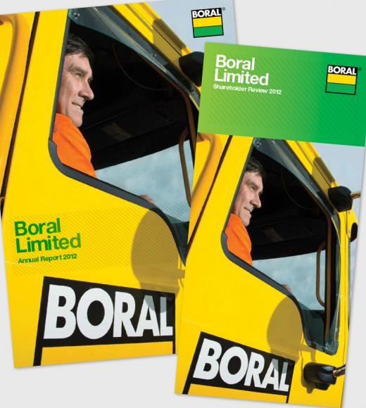 Boral Annual Report and Boral Review 2012