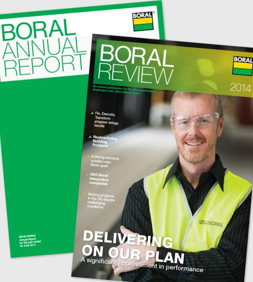 Boral Annual Report and Boral Review 2014