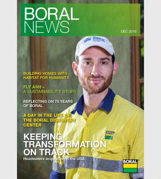 Boral News Issue 2, 2016