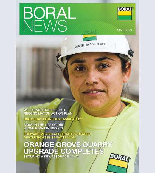Boral News - Issue 1, 2019