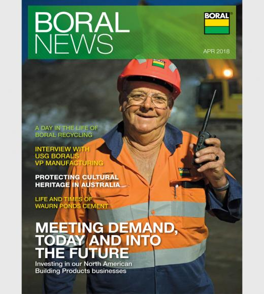 Boral News Issue 1, 2018
